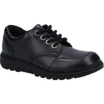 Chaussures Fille Derbies Hush puppies HPK1000-391-10 Kiera Non Patent Jnr Noir