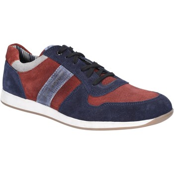 Chaussures Homme Baskets basses Base London TJ01PJ3-40 Eclipse Suede Marine et Bordo