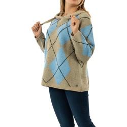 Vêtements Femme Pulls Bsb 044-260025 light blue bleu