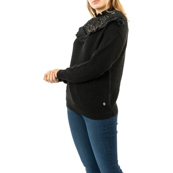 Vêtements Femme Pulls Bsb 044-260036 black noir