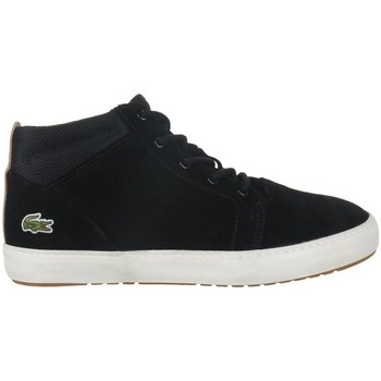 Chaussures Femme Boots Lacoste Ampthill Chukka 417 1 Caw Noir