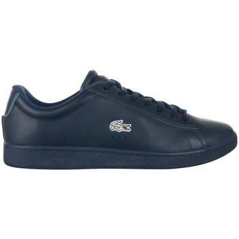 Chaussures Homme Baskets basses Lacoste Carnaby Evo Wmp Spm Bleu marine