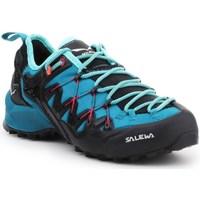Chaussures Femme Running / trail Salewa WS Wildfire Edge Bleu, Graphite