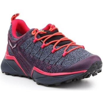 Chaussures Femme Running / trail Salewa WS Dropline Gtx Gris,Orange,Violet