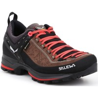 Chaussures Femme Fitness / Training Salewa WS Mtn Trainer 2 Gtx Noir,Orange,Marron