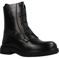 Chaussures Fille Bottines Gioseppo REMDA Noir