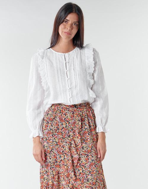 Vêtements Femme Tops / Blouses Betty London NIAMAIM Blanc
