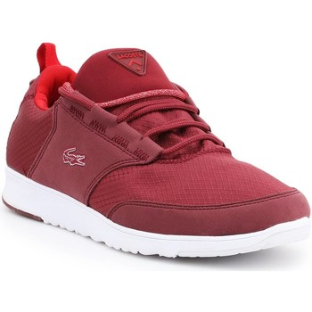 Chaussures Femme Baskets basses Lacoste Light-01 COM 7-28SPW1090DR5 bordowy