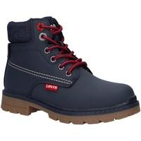 Chaussures Garçon Boots Levi's VFOR0050S NEW FORREST Azul