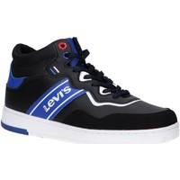 Chaussures Garçon Baskets montantes Levi's VIRV0004S IRVING MID LACE Negro