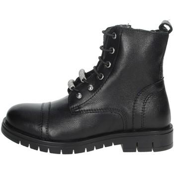 Chaussures Fille Boots Grunland PO1504 Noir