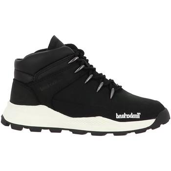 Chaussures Garçon Baskets mode Timberland BROOKLYN NOIR