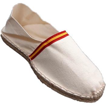 Chaussures Espadrilles Made In Spain 1940 Drapeau espadrilles sparte de l'Espagne beige