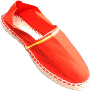 Chaussures Espadrilles Made In Spain 1940 Drapeau espadrilles sparte de l'Espagne rojo