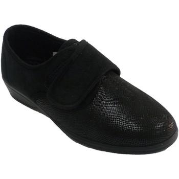 Chaussures Femme Chaussons Doctor Cutillas Pantoufles velcro pour femme imprimé ser negro