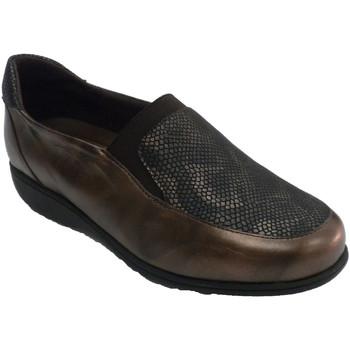 Chaussures Femme Mocassins Doctor Cutillas Chaussure pour femmes simulant des semel marrón