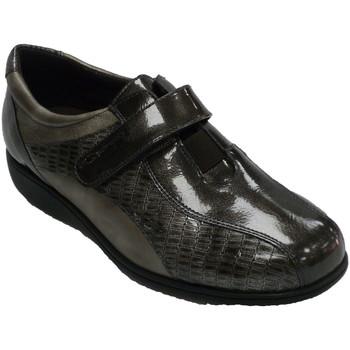 Chaussures Femme Derbies Doctor Cutillas Chaussure femme Velcro spéciale pour sem gris