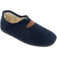 Chaussures Homme Chaussons Calzamur Pantoufles fermées pour hommes avec doub azul
