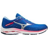 Chaussures Femme Running / trail Mizuno Wave Rider 24 Bleu