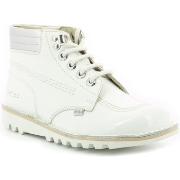 Chaussures Femme Boots Kickers Kick Throwback BLANC