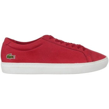 Chaussures Homme Baskets basses Lacoste L 12 Rouge
