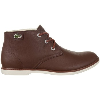 Chaussures Femme Boots Lacoste Sherbrook HI SB Marron