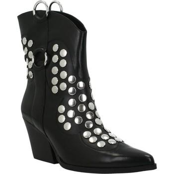 Chaussures Femme Bottines Apepazza STUDS TORY Noir