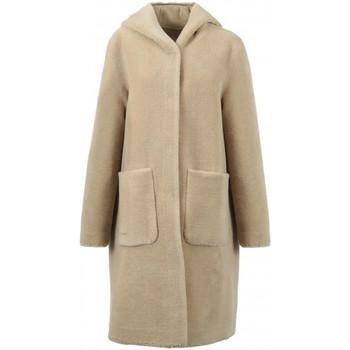 Vêtements Blousons Oakwood Manteau réversible a capuche  Angélique ref Beige