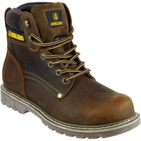 Chaussures Homme Boots Amblers Dorking Marron Crazy Horse