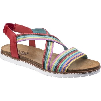 Chaussures Femme Sandales et Nu-pieds Riva Di Mare Dante Multi Leather Rouge Multi