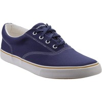 Chaussures Homme Baskets basses Hush puppies HM02100-410-6 Chandler Marine Toile