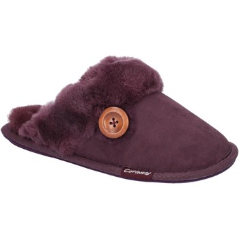 Chaussures Femme Chaussons Cotswold Lechlade Violet