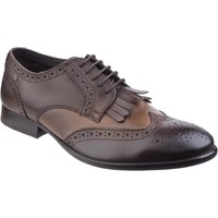 Chaussures Homme Derbies Base London Bartley Burnished Burnished Bronzer
