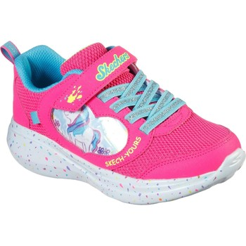 Chaussures Fille Running / trail Skechers 302205L-PNK-27 Go Run Fast Miss Crafty Rose