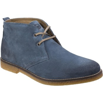 Chaussures Homme Boots Base London SD05493 Perry Bleu