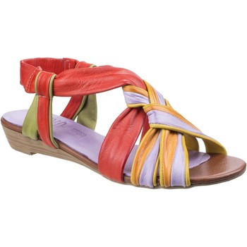 Chaussures Femme Sandales et Nu-pieds Riva Di Mare Cala Leather Rouge