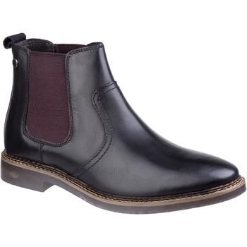 Chaussures Homme Boots Base London SC12-40 Piper Waxy Noir