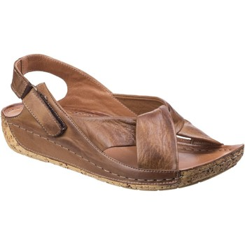 Chaussures Femme Sandales et Nu-pieds Riva Di Mare Leona Leather Marron