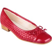 Chaussures Femme Ballerines / babies Riva Di Mare Andros Suede/Patent Shoes Rouge