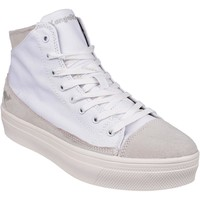 Chaussures Femme Baskets montantes Kangaroos 22169 K Mid Plateau Blanc