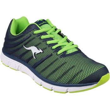 Chaussures Homme Running / trail Kangaroos K Tech Marine et Lime
