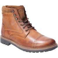 Chaussures Homme Boots Base London SU12 241-40 Quail Burnished Bronzer