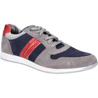 Chaussures Homme Baskets basses Base London TJ01QA3-40 Eclipse Suede Gris et Marine