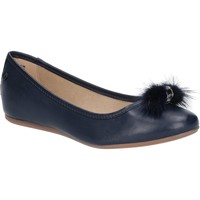 Chaussures Femme Ballerines / babies Hush puppies Heather Puff Marine