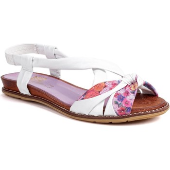 Chaussures Femme Sandales et Nu-pieds Riva Di Mare Adore Leather Blanc Multi