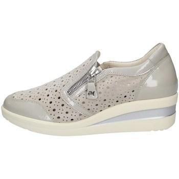 Chaussures Femme Slip ons Melluso HR20116 GLISSER SUR Femme ACIER ACIER