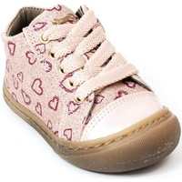 Chaussures Fille Bottines Stones and Bones Bottines cuir WAND rose
