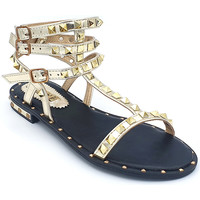 Chaussures Femme Sandales et Nu-pieds Gioie Italiane GC63 Or