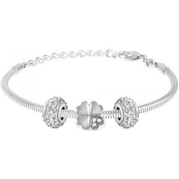 Montres & Bijoux Femme Bracelets Sc Crystal SB050+BEA0031+BEA0202-ARGENT+BEA0031 Argenté