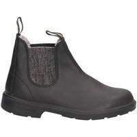 Chaussures Fille Boots Blundstone 2096 Beatles Enfant NOIR ARGENT NOIR ARGENT